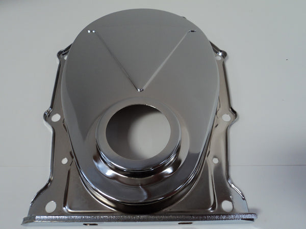 BB Mopar Chrome Timing Cover