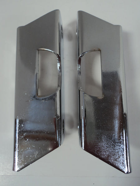 Chrome Brake Booster Brackets For 55-57 Chevy