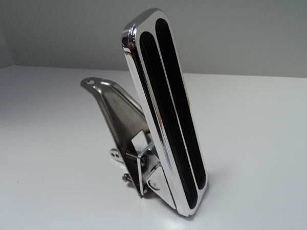 Polished Aluminum Floor Mount Gas Pedal