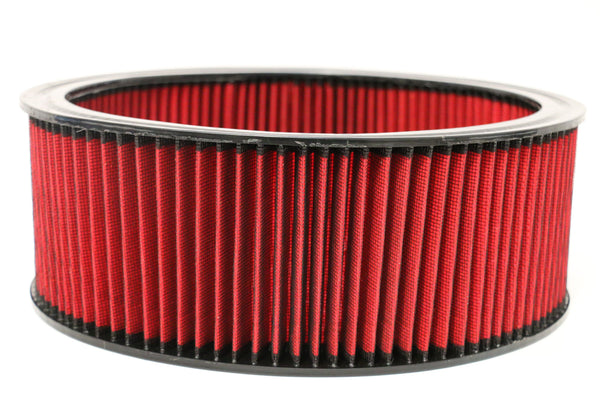 "14"" Round Air Cleaner Washable Element 5"" Tall"