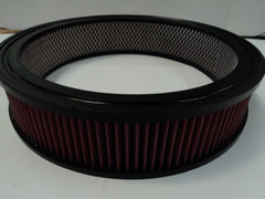 "10"" Round Air Cleaner Washable Element 2 1/2"" Tall"