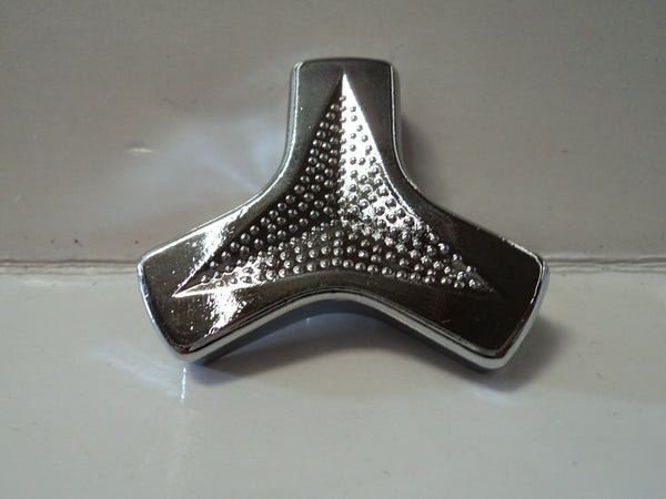 Tri-Bar Chrome Wing Nut