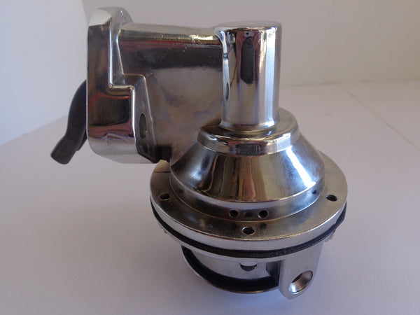 SB Chevy Chrome Mechanical Fuel Pump