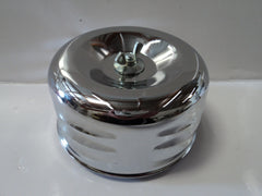 "4"" Louvered Chrome Air Cleaner"