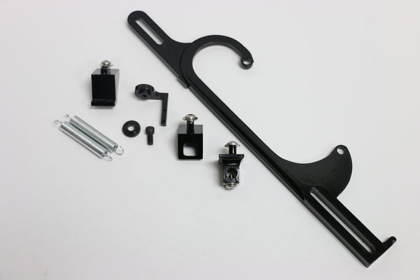 Black Aluminum Throttle Cable Bracket For Holley 4150/4160