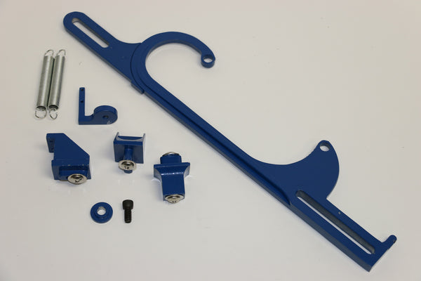 Blue Aluminum Throttle Cable Bracket For Holley 4150/4160
