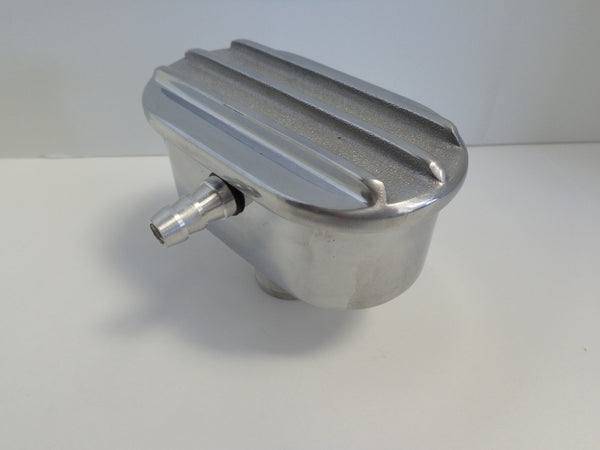 Finned Polished Aluminum PCV Valve