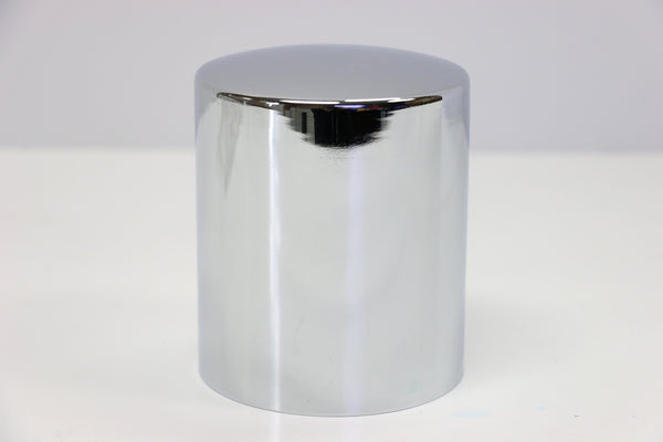 Chrome Oil Filter Cover Short 4 9/32""
