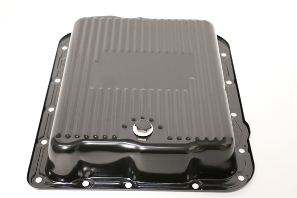 700R4 Black Transmission Pan