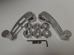 Chrome Interior Window Cranks 4 1/4""