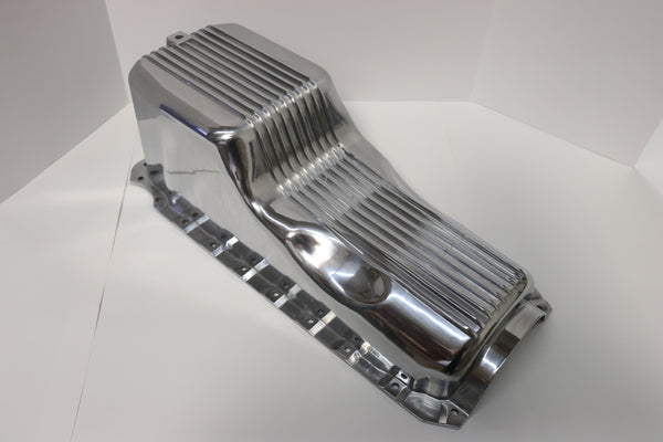 BB Chevy Polished Aluminum Oil Pan 1965-90