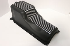 BB Chevy Black Aluminum Oil Pan 1991-04