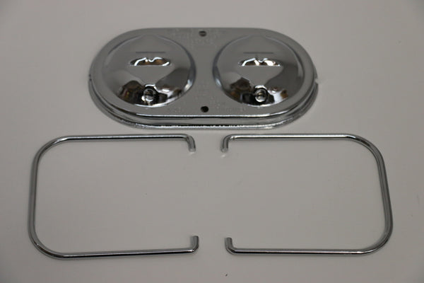 1970-80 GM Dual Bail Chrome Master Cylinder Cover