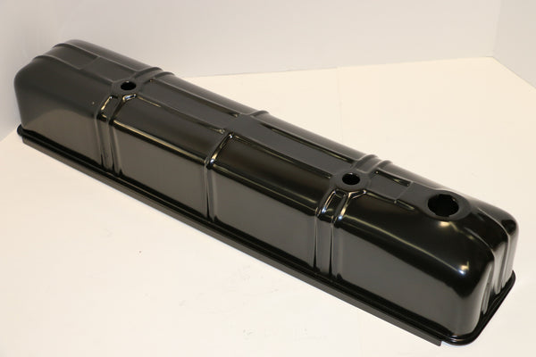 Chevy 216 Straight Six Black Steel Valve Covers