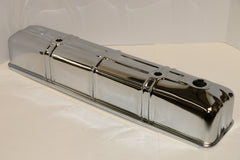 Chevy 216 Straight Six Chrome Steel Valve Covers