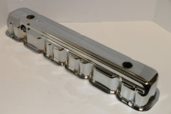 Chevy 194-292 Straight Six Chrome Steel Valve Covers
