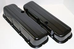 Big Block Chevy Black Steel Valve Covers - Tall