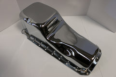 BB Chevy Chrome Oil Pan
