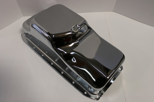SB Mopar Chrome Oil Pan