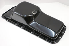 BB Mopar Black Steel Oil Pan