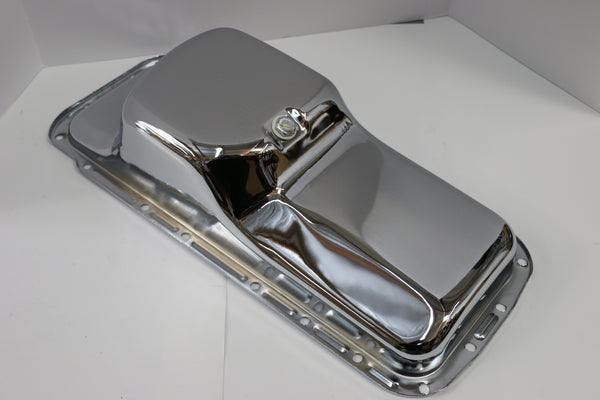 BB Mopar Chrome Oil Pan