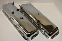 Big Block Chevy OEM Style Chrome Steel Valve Covers
