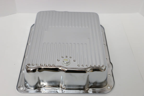 700R4 Deep Chrome Transmission Pan
