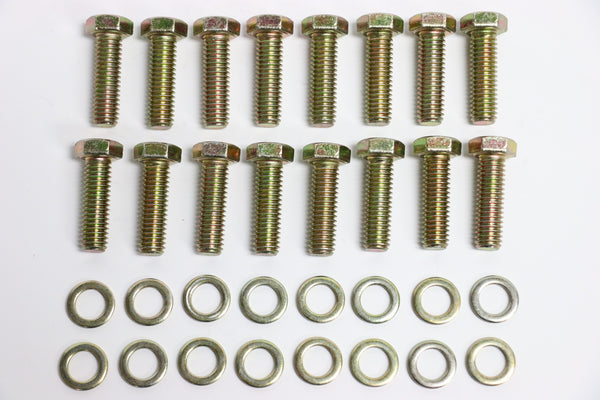 BB Chevy Zinc Hex Head Intake Manifold Bolt 16pc Kit