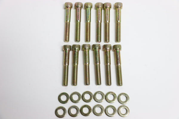 SB Ford Zinc Allen Head Intake Manifold Bolt 12pc Kit