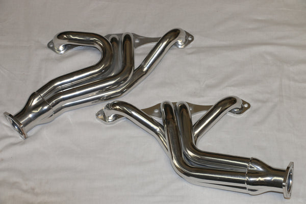 SB Chevy Tri-Five 1955-57 3/4 Length Headers Ceramic Coated