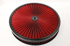 14 X 2 High Flow Air Cleaner Recessed Base Washable