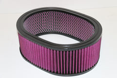 "12"" Oval Air Cleaner Washable Element 4"" Tall"