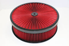 14 X 4 High Flow Air Cleaner Recessed Base Washable