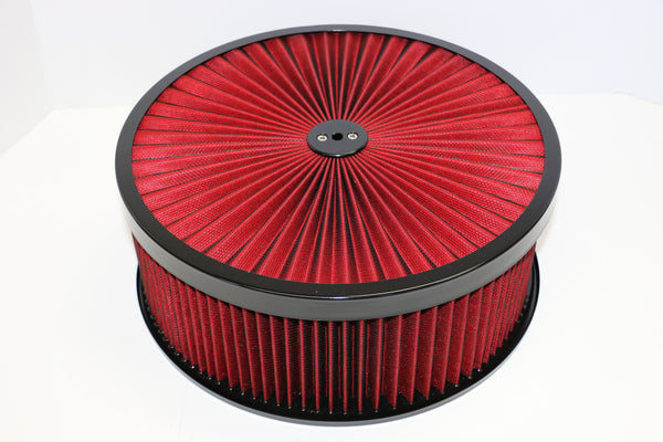 14 X 5 High Flow Air Cleaner Standard Base Washable