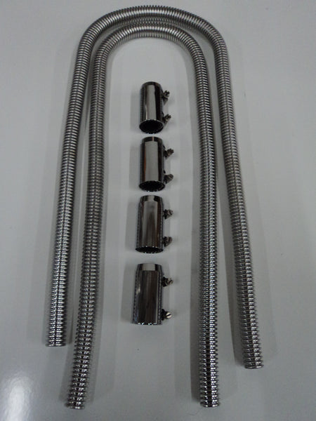 Stainless Steel Heater Hose Kit