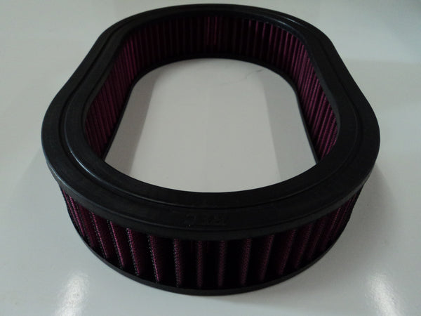"12"" Oval Air Cleaner Washable Element 2"" Tall"