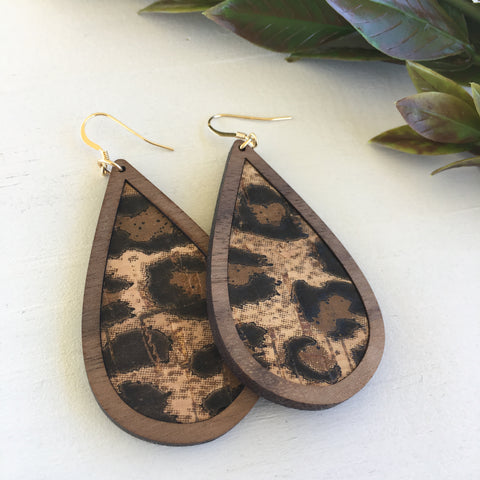 Grace and Wood Earrings