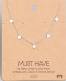 MUST HAVE Gold Coin Necklace