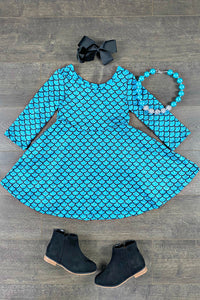 Asteria Mermaid Twirl Dress