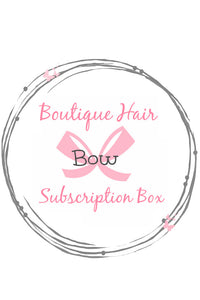 "Bow Peep Boutique ""HAIR BOW"" Subscription Box"
