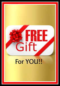 FREE Gift With ANY Purchase! Just Add This to Your Cart!