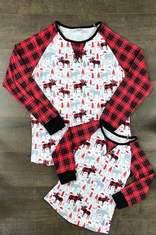 Gender Neutral Buffalo Plaid Tops
