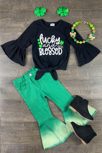 Lucky & Blessed Clover Set