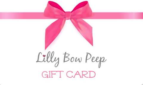 Lilly Bow Peep Gift Card