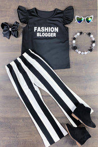 Fashion Blogger Bell Pant Set
