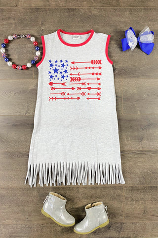 Stars & Arrows USA Fringe Dress