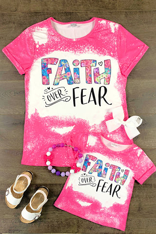 Mom & Me - Faith Over Fear Tops