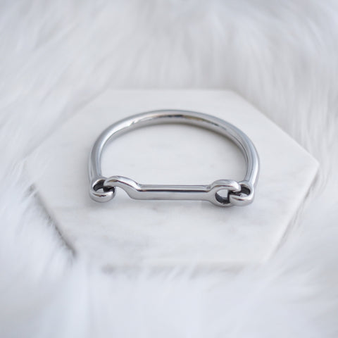 Hook and Eyelet Bangle