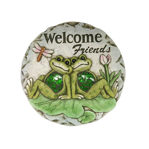 Comfy Hour 10 Frog Garden Stepping Stone