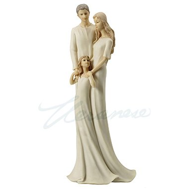 Unicorn Studios WU71490AB Family Time Mom Dad & Daughter Sculpture